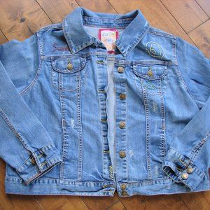 Avenue Jeans One of a Kind Denim Jean Jacket
